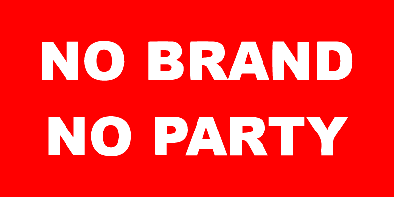 No brand no party - Voglio un logo figo che costi poco, Articolo di Andre Conti sul blog di Big Rocket