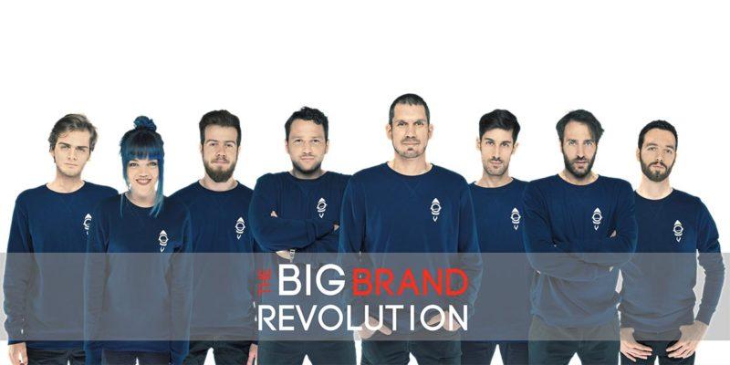 Il team di Big Rocket al completo per la Big Brand Revolution