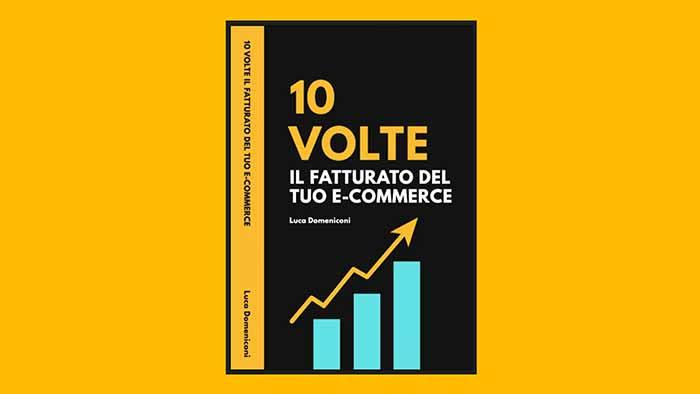 """Libro """"10 volte il fatturato del tuo e-commerce"""" di Luca Domeniconi"""